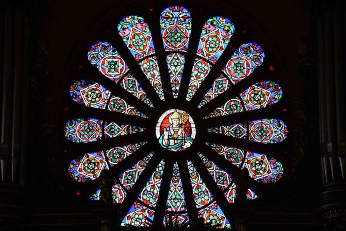 Rosace de l'église Saint-Clément © French Moments