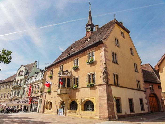 L'Hôtel de Ville de Guebwiller © Ralph Hammann - licence [CC BY-SA 4.0] from Wikimedia Commons