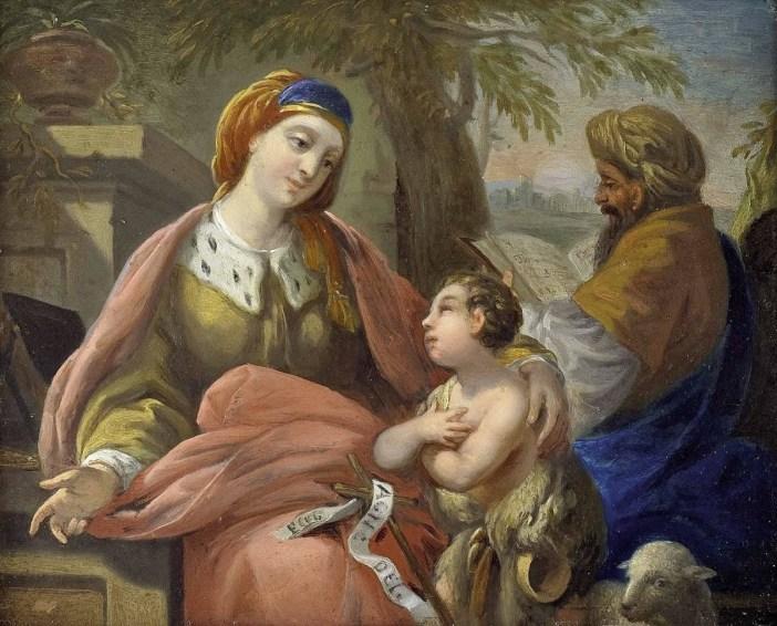 La famille de Jean Baptiste par Louis Jean François Lagrenée 1805