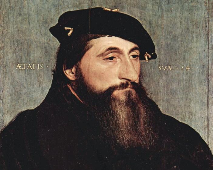 Portrait du duc Antoine par Hans Holbein le Jeune (1543)