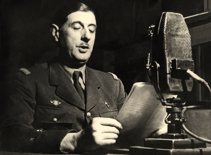 Charles de Gaulle BBC 1940