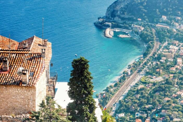 La vue imprenable de l'hôtel du Château Eza. Photo: @aralumut via Twenty20