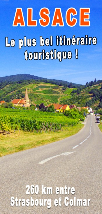Pinterest - Le plus bel itinéraire touristique d'Alsace © French Moments