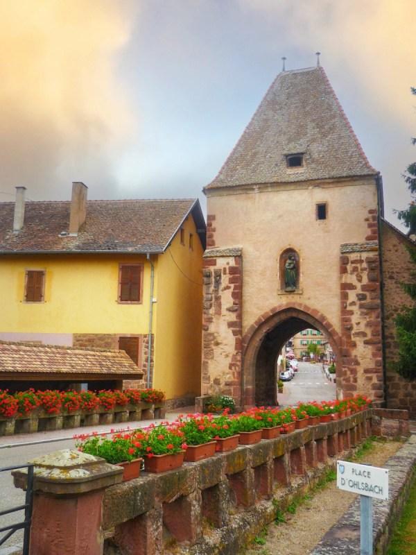Portes fortifiées d'Alsace - Tour Basse à Bœrsch © French Moments