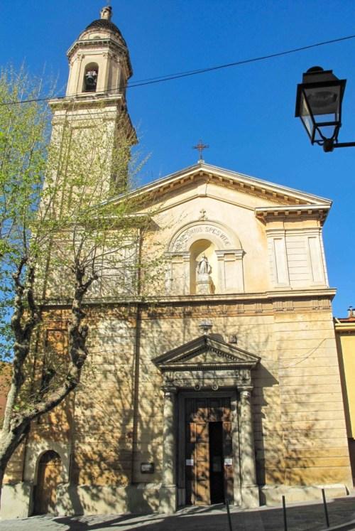 Chapelle des Pénitents Noirs. Photo : Tangopaso (Domaine public)