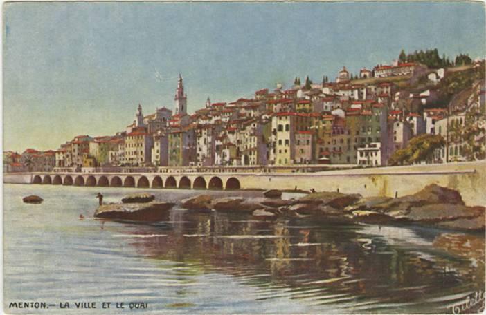 Menton vers 1912