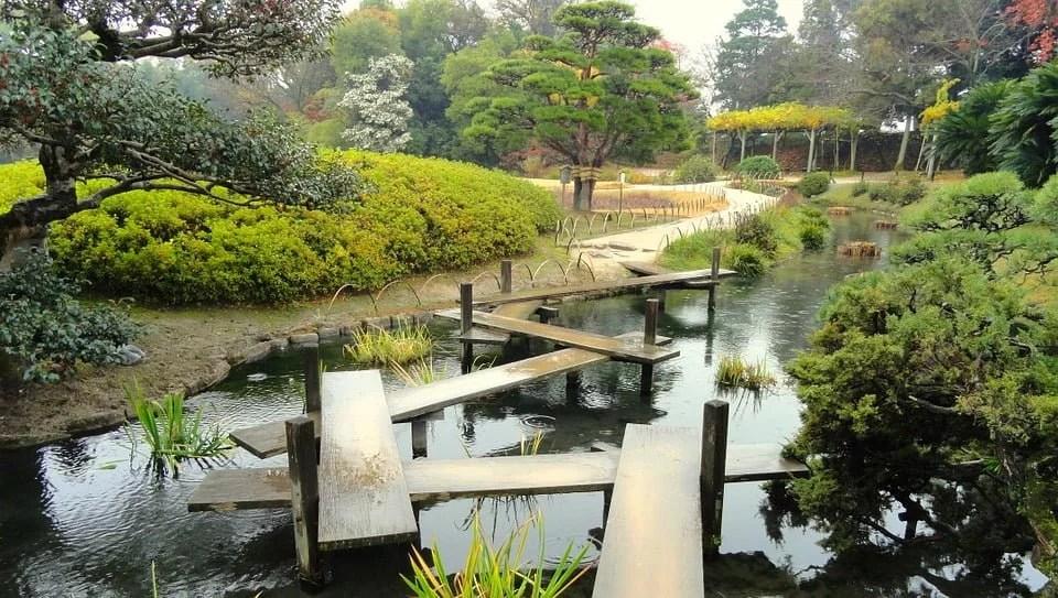 Présentation d'un jardin japonais