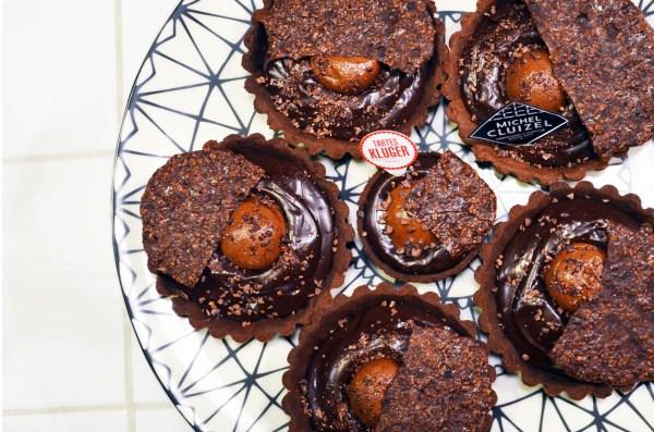 Catherine Kluger, Catherine Cluizel, tarte, Choco'Maniac, Pâques, Manufacture Cluizel, Tartes Kluger, Fabrique de tartes