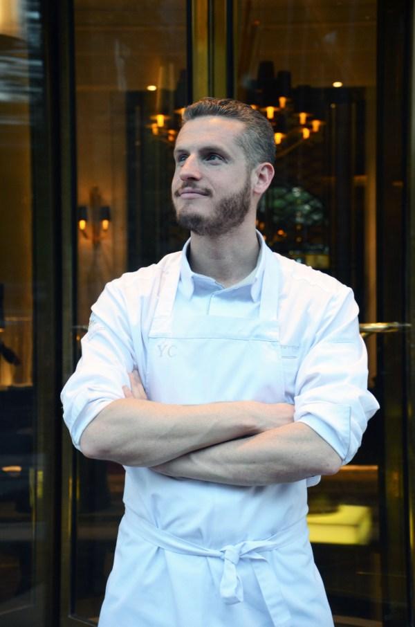 Portrait, Yann Couvreur, Prince de Galles, pâtissier, Hôtel, Paris, chef