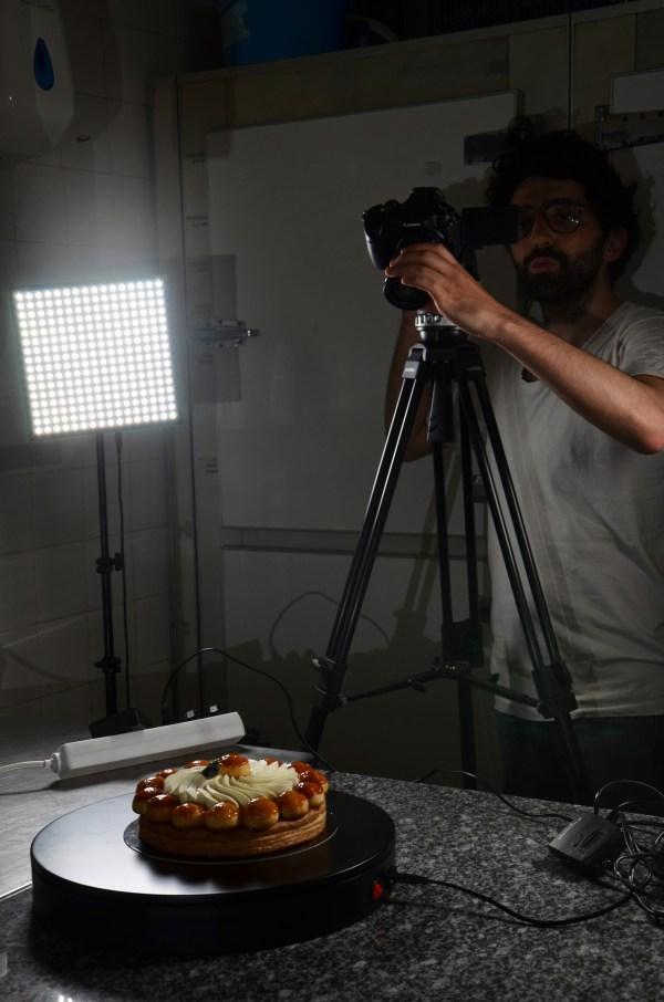 tournage film patisserie
