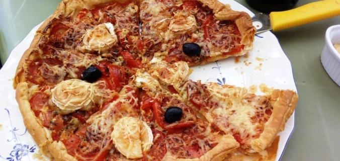 Maintien de poids-Tarte à la tomate-Photo de Marine