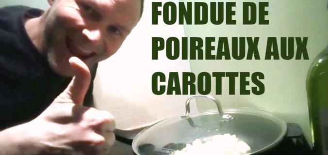 Fondue de poireau aux carottes