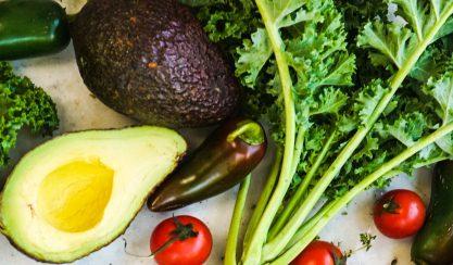 Lipides végétal et fruits rouges