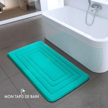 tapis-de-bain-antiderapant-bleu-en-mousse