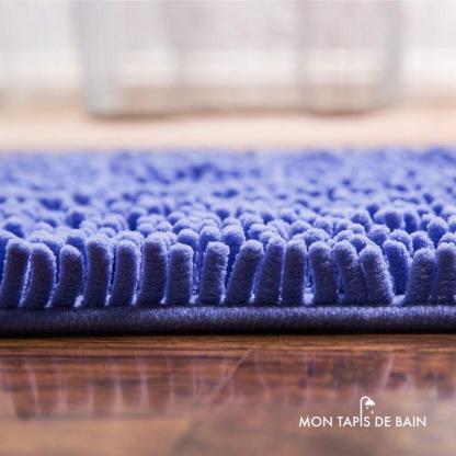 tapis de bain antiderapant chenille