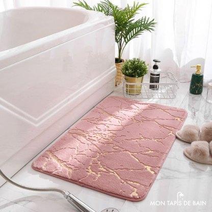 tapis-de-bain-design-et-original-rose