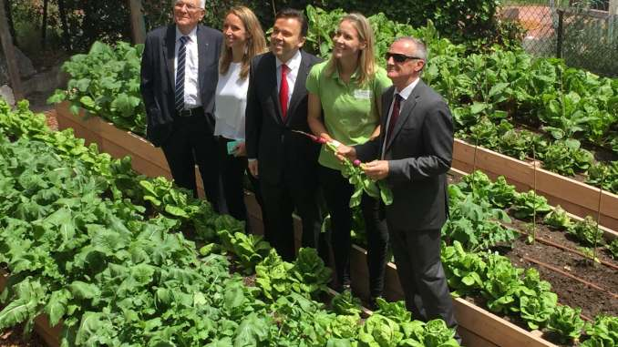 Monaco: agricoltura urbana al servizio dei pazienti dell'Ospedale Princesse Grace di Monaco