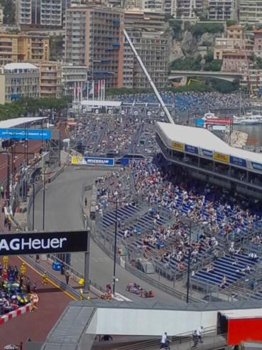 Un'immagine della scorsa edizione del Campionato di Formula E di Monaco