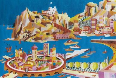 Claude Gauthier: L'isola Del Futuro (Collezione Privata)