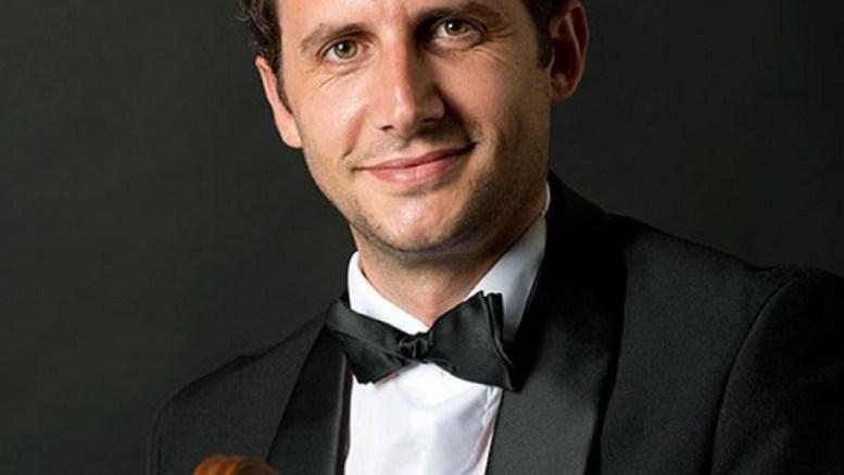 Altin Tafilaj dall'Albania all'Orchestra di Cannes
