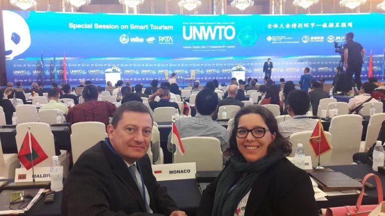 La delegnella 22esima Assemblea Generale dell'OMT si è parlato anche di turismo sostenibile