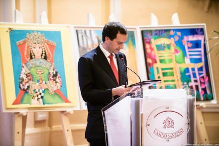 Giuseppe Ambrosio a Sanremo durante l'Annual General Meeting della Confindustria di Imperia. Foto: Carlo Alberto Alessi