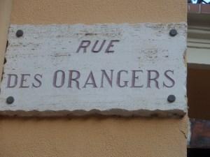 Rue des Orangers nel Principato di Monaco
