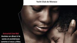 Asta benefica di Artcurial per Amref Monaco