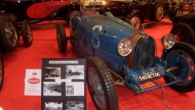 In mostra nel Principato di Monaco la BUGATTI 35 C, che ha corso al 1° Gran Premio di Monaco nel 1929 con il numero 8 - Ft.©arvalens