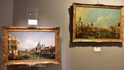 Montecarlo: alcune opere esposte nella mostra La Magica Luce di Venezia (The magical light of Venice)