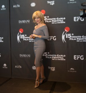 Nancy Brilli al Monte Carlo Film Festival de la Comédie, Ft.webstudio06