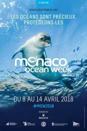 Dall'8 al 14 aprile 2018, il Principato si mobilita di nuovo per la preservazione degli Oceani