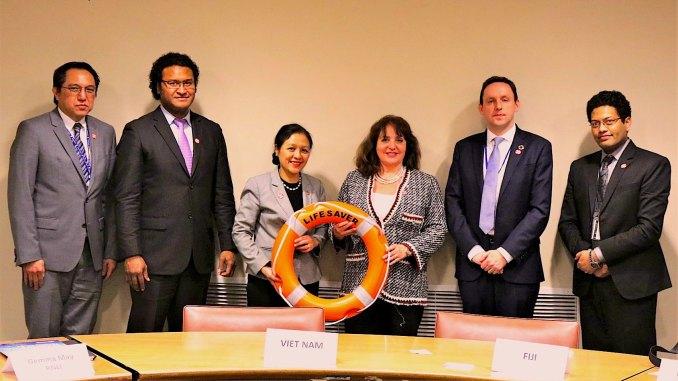 Monaco nel Gruppo degli Amici per la Prevenzione dell' Annegamento ONU
