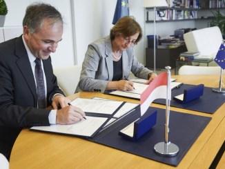 Firma di un Accordo Biennale di Cooperazione tra Monaco e il Consiglio d'Europa