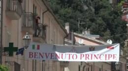 Alberto di Monaco: Laurea Honoris Causa a Napoli e Visita a Campagna, Sito Storico dei Grimaldi