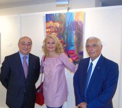 Professionisti ed Esordienti in Mostra al Forum degli Artisti di Monaco Ft©arvalens