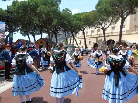 Concluso l'Incontro dei Siti Storici Grimaldi nella Piazza del Palazzo del Principe. Anche Genova Aderisce all'Associazione e Invita Alberto II a Ricevere la Cittadinanza Onoraria