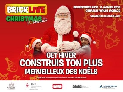 Monte Carlo: Vacanze di Natale a Colori per i Fan dei Lego con BRICKLIVE
