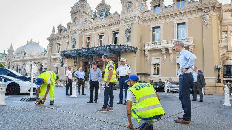 Al Via la Pedonalizzazione Sperimentale Davanti al Casinò di Monte Carlo