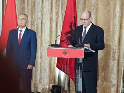Il Principe Alberto in Albania