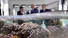 Centro Scientifico di Monaco: Visita del Primo Ministro