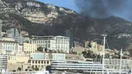 Incendio Stamane all'Hotel de Paris