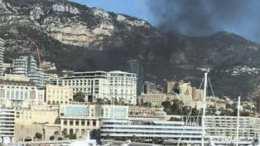 Incendio Stamane all'Hotel de Paris