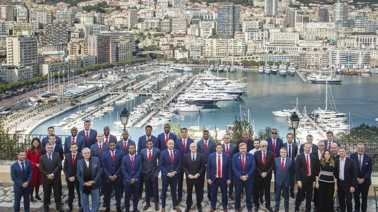 L' A.S. Monaco Basket Ricevuta dal Ministro di Stato