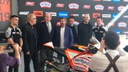 Il Principe Alberto e Numerose Star alla Presentazione del Max Biaggi Racing Team