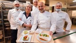 La Cucina dei Grandi Chef all'Ospedale di Monaco