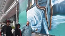 La Street Art di Kobra Conquista il Principato