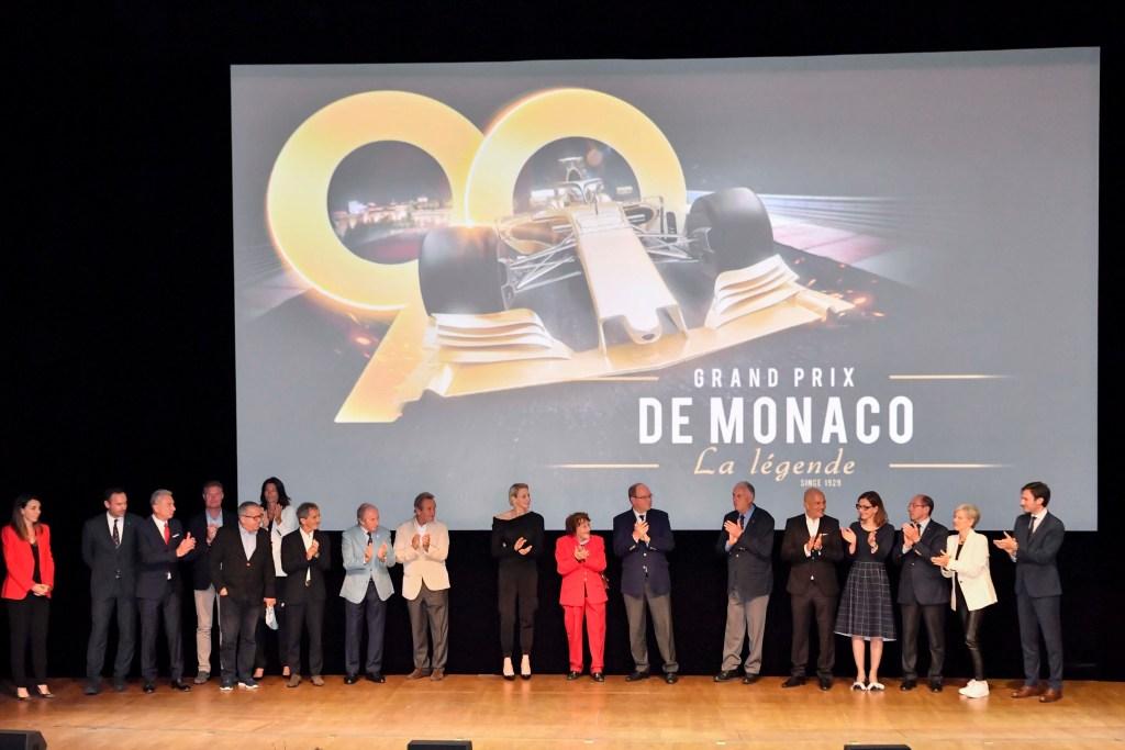 I Principi Alberto e Charlene all'Anteprima del Documentario: Gran Premio di Monaco La Leggenda