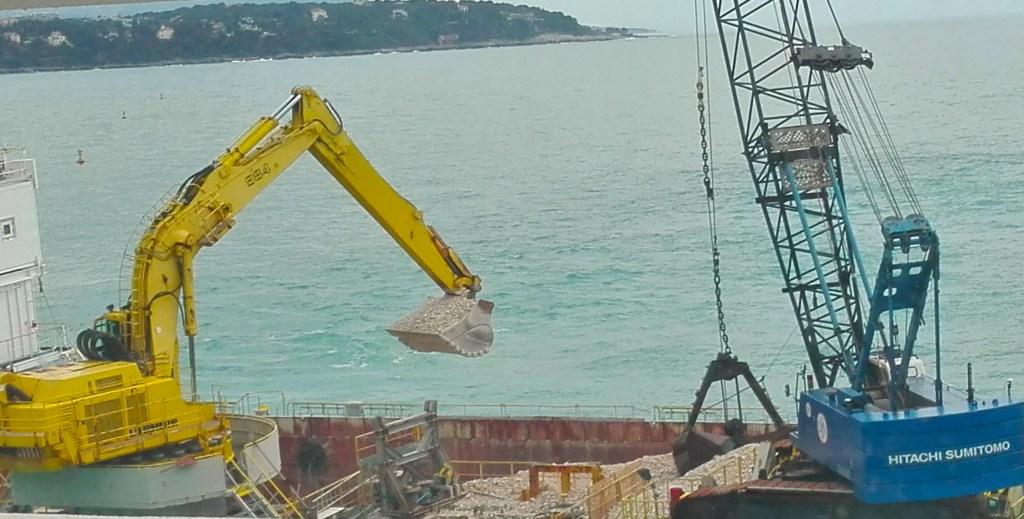 Nuovo Quartiere in Mare a Monte Carlo: Esercitazione Anti Inquinamento