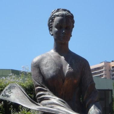 Statua della Principessa Grace a Monte Carlo